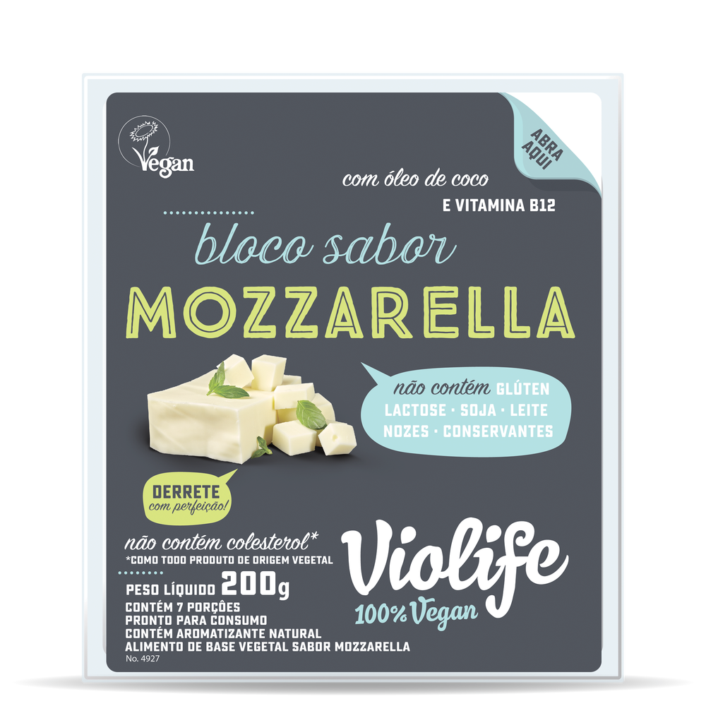 Violife Bloco Sabor Mozzarella